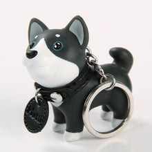 Load image into Gallery viewer, Blue Eyed Husky Love KeychainAccessoriesHusky