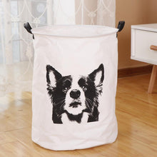 Load image into Gallery viewer, Border Collie Love Waterproof Laundry BasketHome Decor