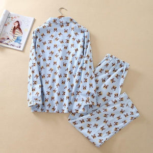 Boston Terrier / French Bulldog Love PajamasPajamas