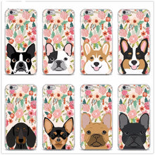 Load image into Gallery viewer, Boston Terrier in Bloom iPhone CaseCell Phone Accessories