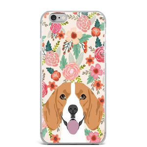 Boston Terrier in Bloom iPhone CaseCell Phone AccessoriesBeagleFor 5 5S SE