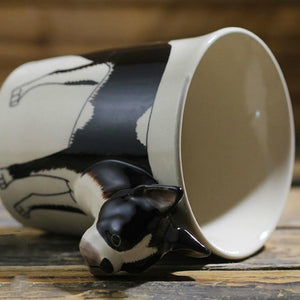 Boston Terrier Love 3D Ceramic CupMug