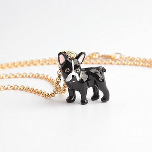 Boston Terrier Love Enamel Jewellery Set - Earrings, Pendant, Ring & BangleJewellery