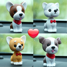 Load image into Gallery viewer, Boston Terrier Love Fur Baby BobbleheadCar Accessories