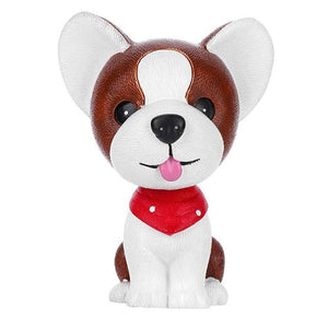 Boston Terrier Love Fur Baby BobbleheadCar Accessories