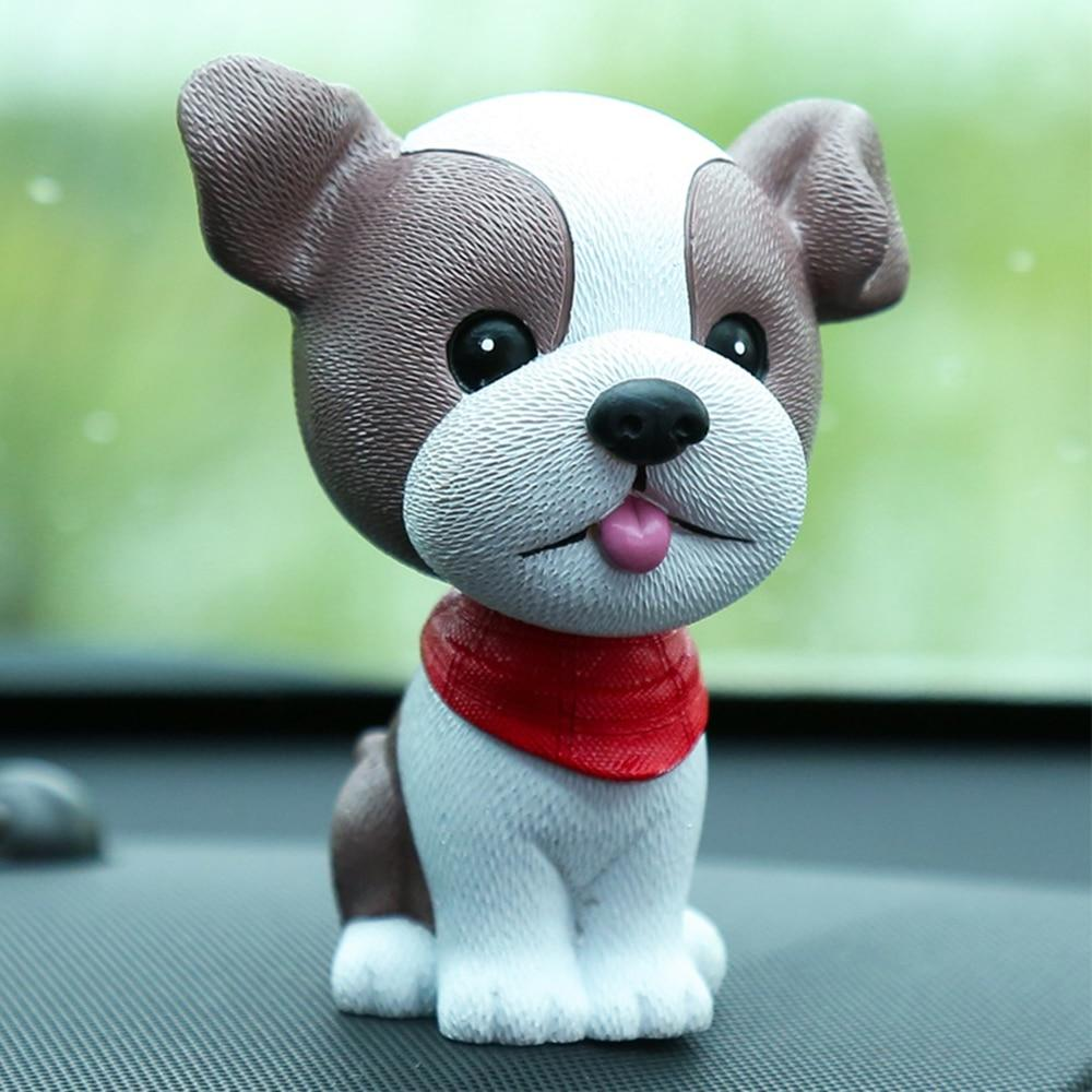 Boston Terrier Love Fur Baby BobbleheadCar AccessoriesBoston Terrier
