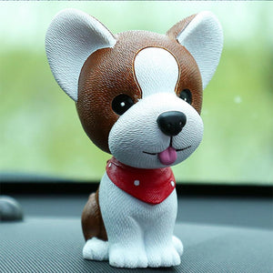 Boston Terrier Love Fur Baby BobbleheadCar AccessoriesJack Russell Terrier