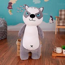 Boston Terrier Love Huggable Stuffed Toy PillowHome DecorHuskySmall