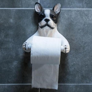 Boston Terrier Love Toilet Roll HolderHome Decor