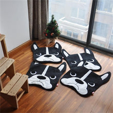 Load image into Gallery viewer, Boston Terrier Shaped Floor RugMat