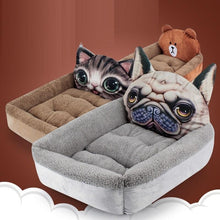 Load image into Gallery viewer, Boston Terrier Themed Pet BedHome Decor