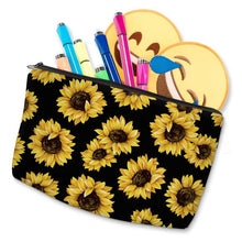Load image into Gallery viewer, Boxer in Bloom Make Up BagAccessories