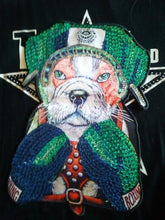 Load image into Gallery viewer, Boxing English Bulldog Embroidered Sew-on PatchPatch