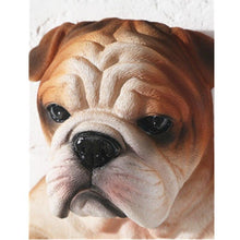 Load image into Gallery viewer, Brindle English Bulldog Love Toilet Roll HolderHome Decor