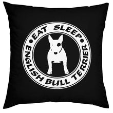 Load image into Gallery viewer, Bull Terrier Love Cushion CoversHome Decor
