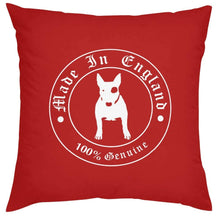 Load image into Gallery viewer, Bull Terrier Love Cushion CoversHome DecorRedOne Size