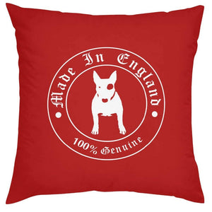 Bull Terrier Love Cushion CoversHome DecorRedOne Size