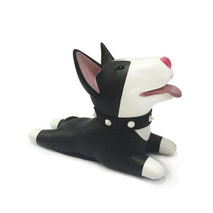 Bull Terrier Love Door StopperHome DecorBull Terrier - Black