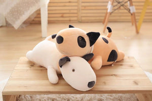 Bull Terrier Love Huggable Stuffed Animal Plush Toy PillowHome Decor