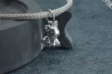 Load image into Gallery viewer, Bull Terrier Love Silver PendantDog Themed Jewellery