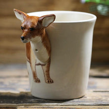 Load image into Gallery viewer, Chihuahua Love 3D Ceramic CupMug