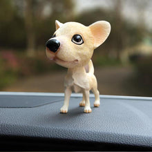 Load image into Gallery viewer, Chihuahua Love Car Bobble HeadCar