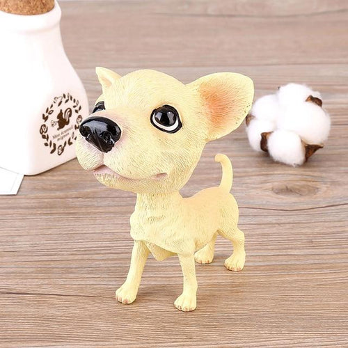 Chihuahua Love Car Bobble HeadCarChihuahua