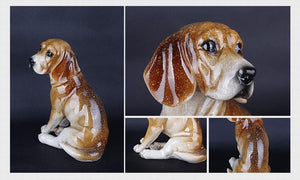 Chihuahua Love Resin StatueHome Decor