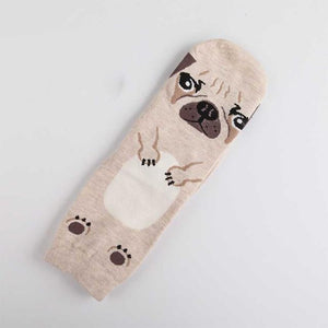 Chihuahua Love Womens Cotton SocksSocksPug