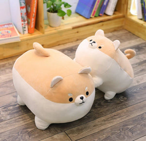 Cocktail Sausage Shiba Inu Stuffed Plush Toy PillowHome Decor