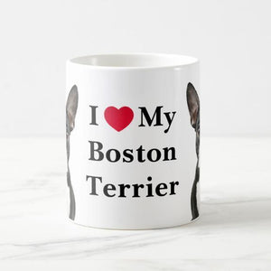 Color Changing Boston Terrier Love Coffee MugMug