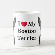 Load image into Gallery viewer, Color Changing Boston Terrier Love Coffee MugMug