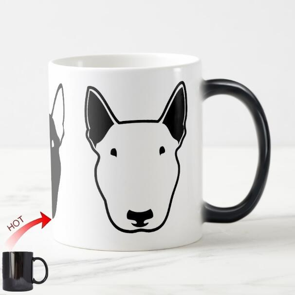 Color Changing Bull Terrier MugMug