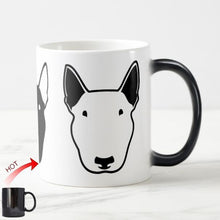 Load image into Gallery viewer, Color Changing Bull Terrier MugMugDefault Title
