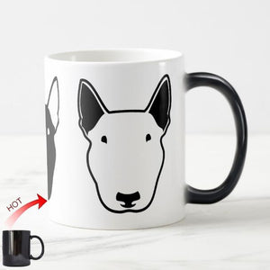 Color Changing Bull Terrier MugMugDefault Title