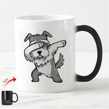 Load image into Gallery viewer, Color Changing Dabbing Schnauzer Coffee MugMugDefault Title