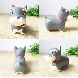 Corgi Love Ceramic Car Dashboard / Office Desk OrnamentHome Decor