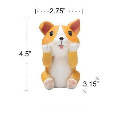 Corgi Love Resin Glasses HolderHome DecorCorgi