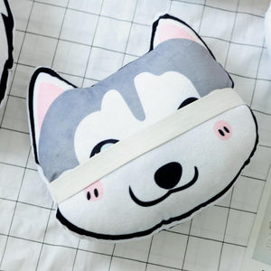 Corgi Love Stuffed Cushion and Neck PillowCar Accessories