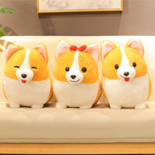 Load image into Gallery viewer, Corgis in a Row Stuffed Animal Plush Toys (Small to Giant Size)Soft Toy