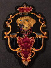 Load image into Gallery viewer, Crown Dog Embroidered Sew On PatchPatch