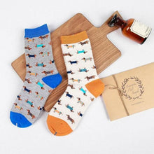 Load image into Gallery viewer, Cute Husky Pattern Socks - 2 PairsSocksDachshund