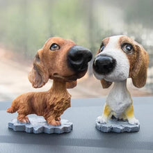 Load image into Gallery viewer, Cutest Basenji Car Bobble HeadCar