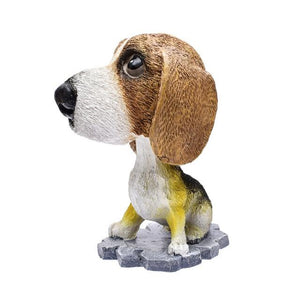 Cutest Basenji Car Bobble HeadCarBeagle