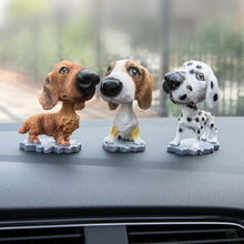 Load image into Gallery viewer, Cutest Basset Hound Car Bobble HeadCar