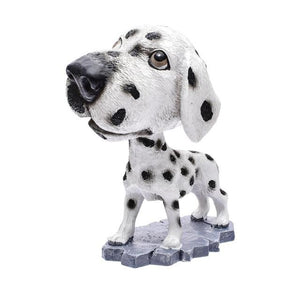 Cutest Basset Hound Car Bobble HeadCarDalmatian
