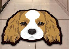 Load image into Gallery viewer, Cutest Bichon Frise Floor RugHome DecorCavalier King Charles SpanielMedium