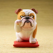 Load image into Gallery viewer, Cutest Black Labrador Desktop Ornament FigurineHome DecorEnglish Bulldog