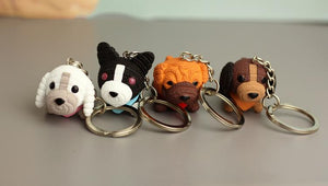 Cutest Boston Terrier Love KeychainKey Chain