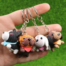 Load image into Gallery viewer, Cutest Boston Terrier Love KeychainKey Chain